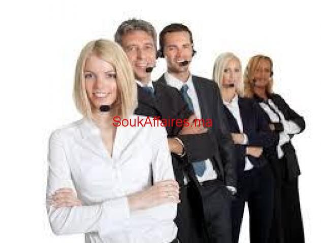 Téléconseiller pour notre centre d'appel