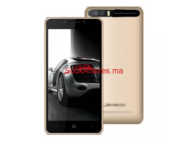 smartphone leagoo p1 gold