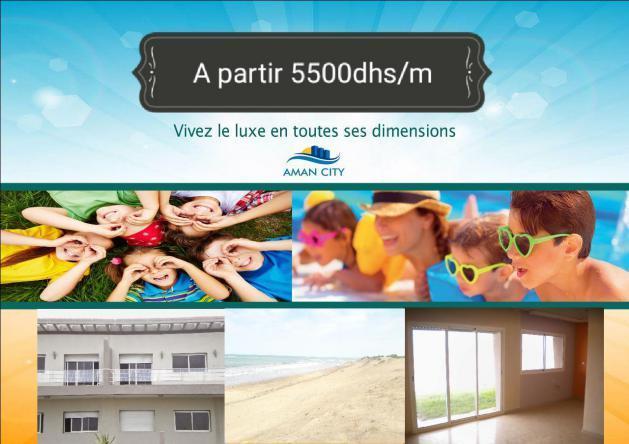 bel appartements pres de la mer A 55500DH M2