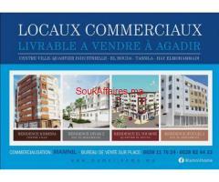 Locaux commerciaux livrable a Agadir