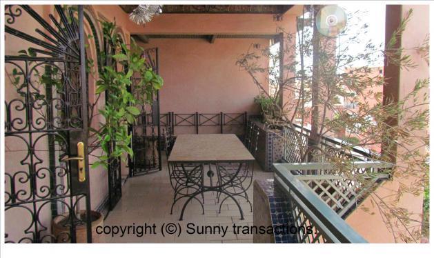 En vente appartement en plein coeur de Guéliz
