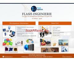 FLASH INGENIERIE :Projet BTP,Plan béton armé ...