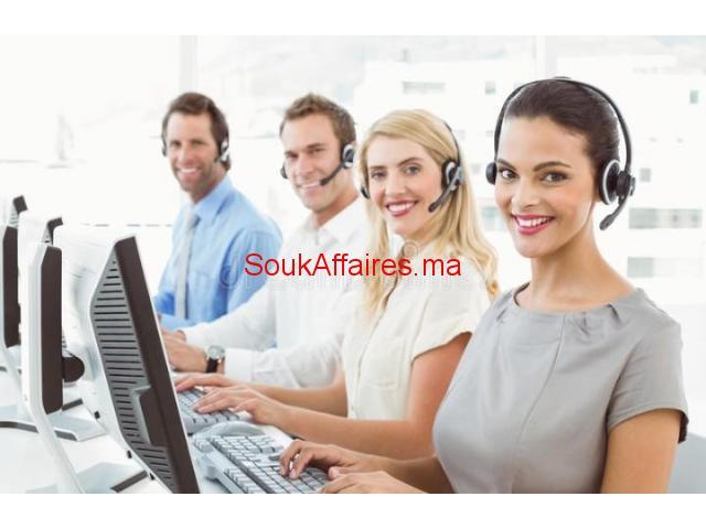Téléconseillers arabphone et francophone