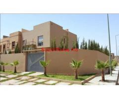Très belle villa de 4ch  beau jardin à Targa