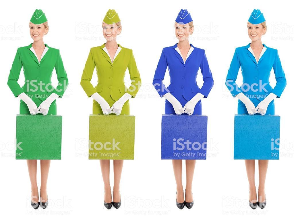 Formation d'hôtesse de l'air et stewards :