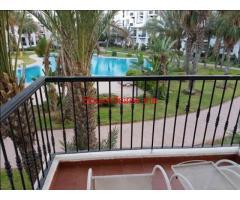 appartement a agadir vue sur piscine