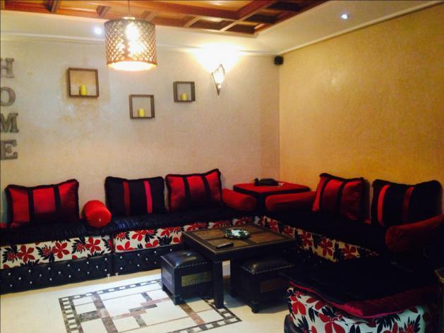Bel appart meublé à av Abdelkrim el Khttabi