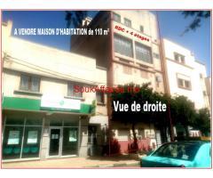 Rdc + 4 étages DE 110 m²