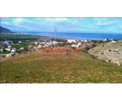 Lot de terrain avec une vue panoramique Tétouane