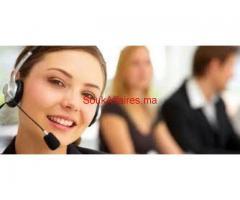 Travailler dans centre d'appel (h/f)