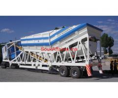 centrale a béton mobile  60 m3/h