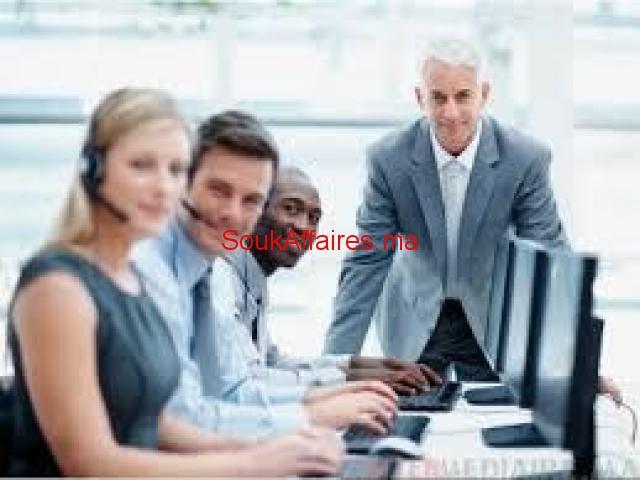 télé conseillers débutants