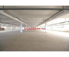 Batiment de production 2000 m², Lissasfa