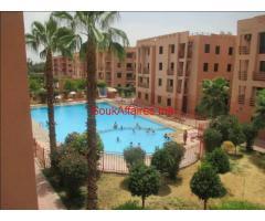 Appartement de 70 m2 à Marrakech Palmeraie