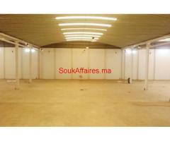 Batiment industriel 8300 m², Nouaceur
