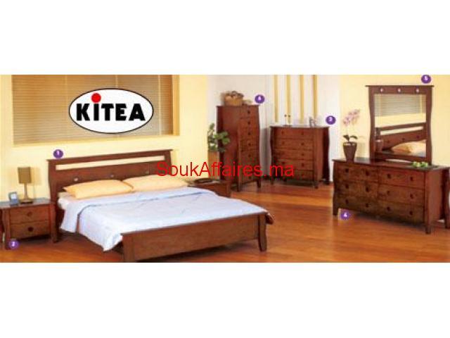 Chambre à coucher TANGO bois massif