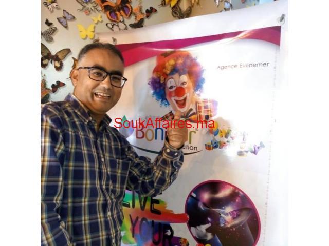 Agence d'animation et spectacles des anniversaire a domicile
