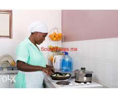 Agence spécialisée des travaux de ménage professionnel africaine et philippine