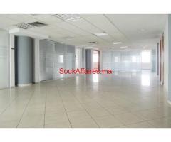 Bureaux 830 m², Sidi Maarouf - Casablanca