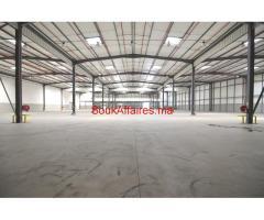Batiments de stockage 11000 m², Ain sebaa
