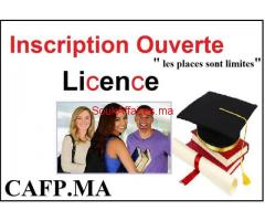 Licence & Master :