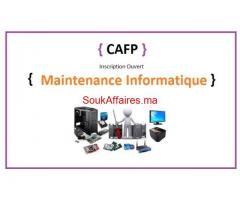 Formation Accélérée  en maintenance informatique