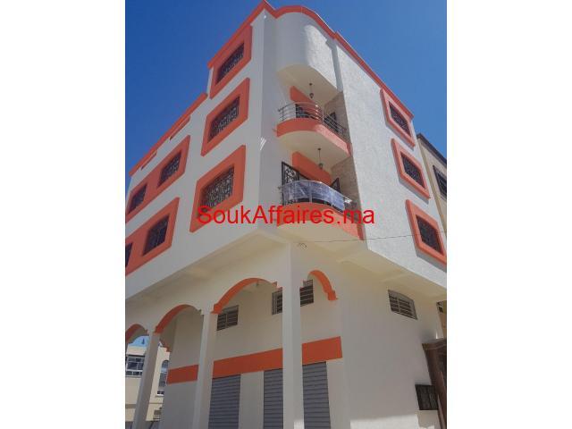Appartements à vendre r+3 à ismailia kénitra