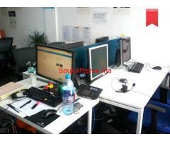 Bureau pour centre d'appel ou espace coworking prêt à l'emploi