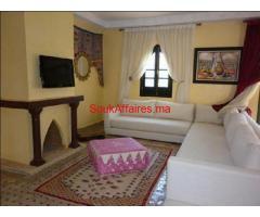 Villa style riad meublée de 4ch à la Palmeraie