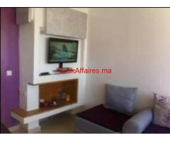 Bel appartement a louer a sidi rahal dream land
