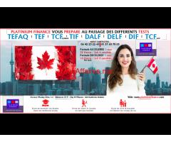 Préparation aux TESTS -/ TEFAQ-TCF-TEF-TFI- DELF-DALF-DILF- CANADA - FRANCE –TEMARA