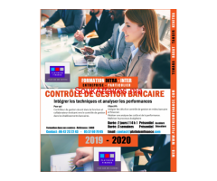 FORMATION CADRE-  CONTRÔ¨LE DE GESTION BANCAIRE-MAROC