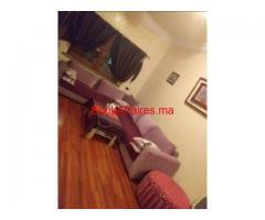 location Bel appartement joliment meublé  3 ch gueliz