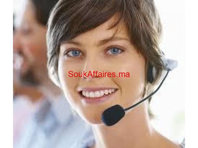 Centre d'appel Francophone mi temps pour les débutant