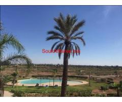 شقة للبيع بمنطقة النخيل مراكش -المغرب