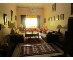 vente magnifique appartement  AU RDC  route de fes