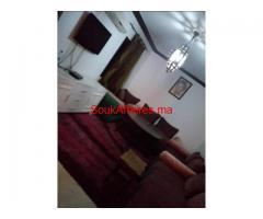 location appartement joliment meublé  120 M