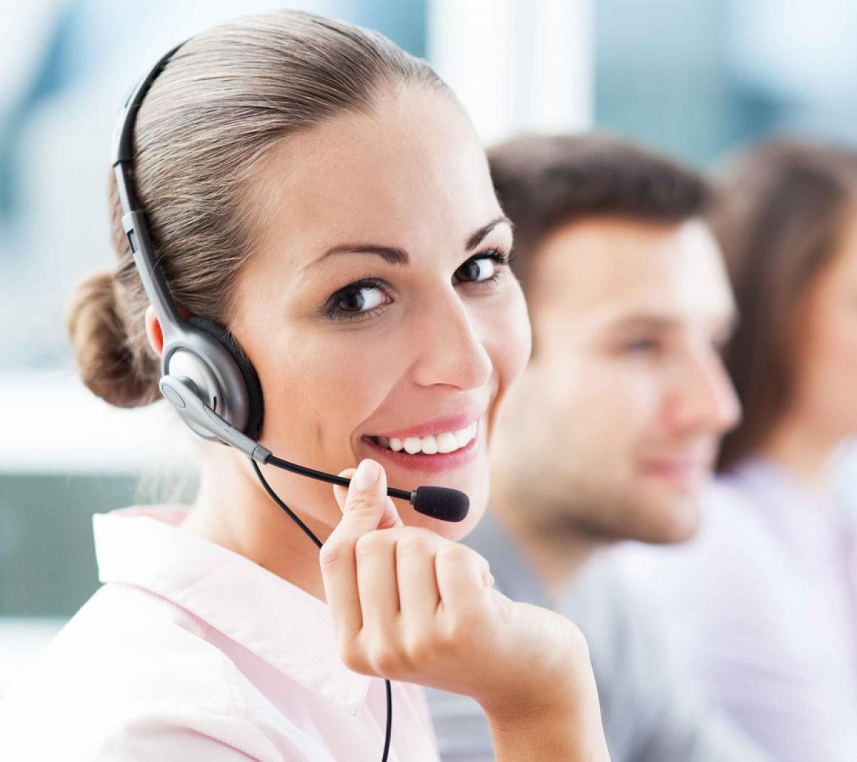 Centre d'appel en réception d'appels