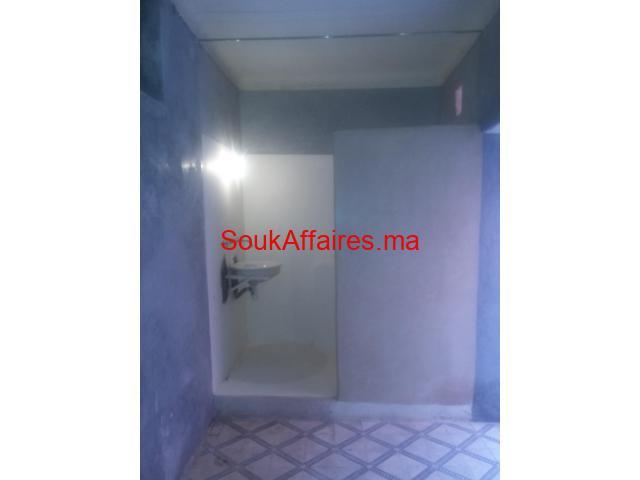 à louer maison vide typique à Marrakech médina