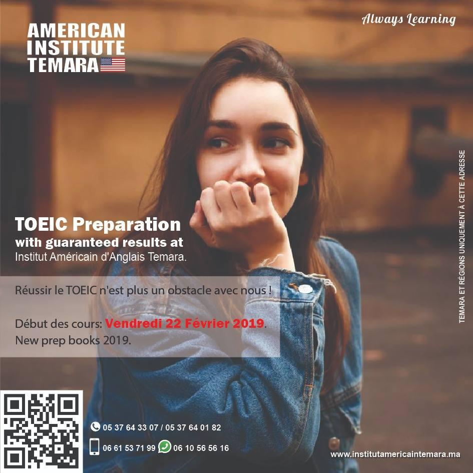 TOEIC Preparation With Institut Americain Temara