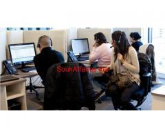 Offre d'emploi urgent 100 téléconseiller ( Fr / Ar )