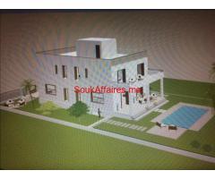 vente villa  SEMI FINI  787 M²  proximité TARGA