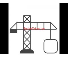 Cherche porteur du projet en construction des bâtiments