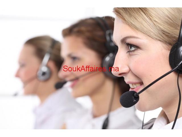 Téléconseillers (e) dans un centre d'appel