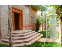 vente une  villa  de 198  M a targa