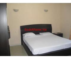 Appartement meublé 54 m² Anfa 5500 Dh