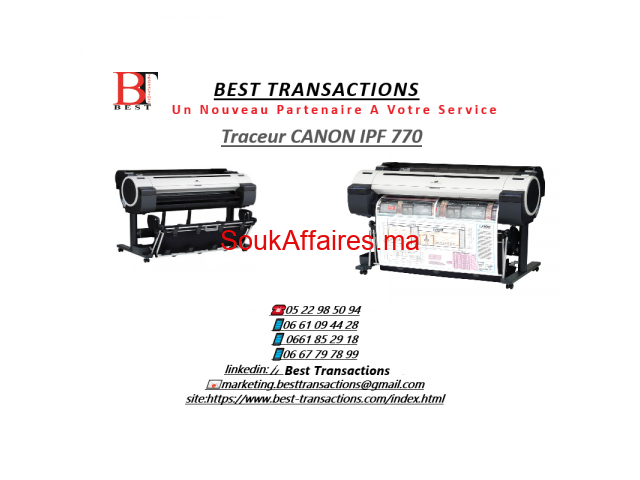 Traceurs CANON IPF770