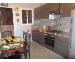 Appartement terrasse meublé 110 m² Bourgogne 7500 Dh