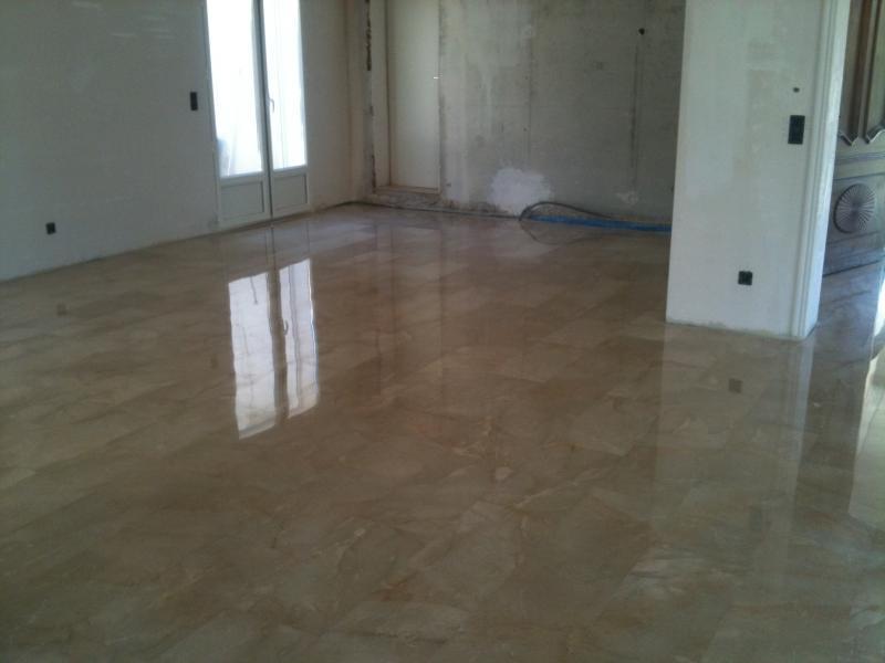 cristallisation des sols marbre