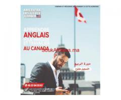 Apprendre l'Anglais pour immigrer et travailler au CANADA.